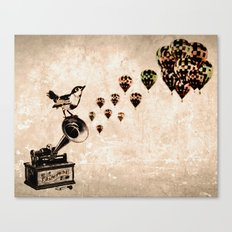 Sweet Song Canvas Print