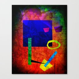 Jazz Bot Canvas Print