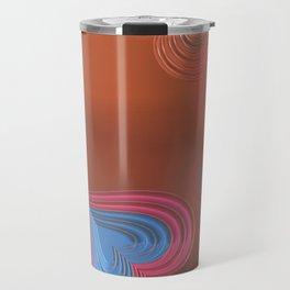 Orange Love Travel Mug