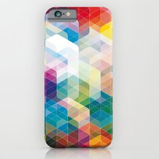 Cuben Curved #3 Geometric Art Print. Slim Case iPhone 6s