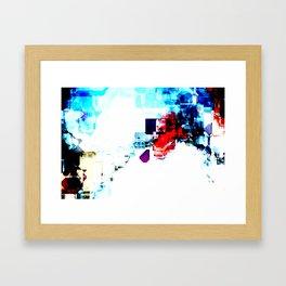Techno Blitz Framed Art Print