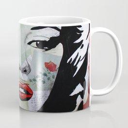 Marilyn «Red Flower» Coffee Mug