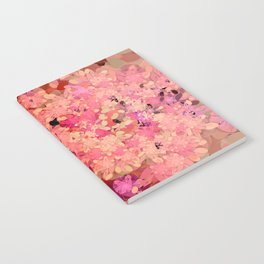 Two Different Worlds -- Floral Pattern Notebook