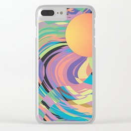 Magnetic Storm Clear iPhone Case