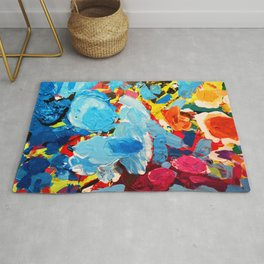 Painters' Splatter Rug