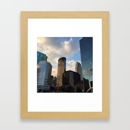 Minneapolis Skyline Framed Art Print
