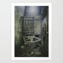 Porte des Morts Art Print