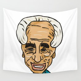 Shimon Peres Wall Tapestry