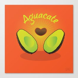 Aguacate Canvas Print