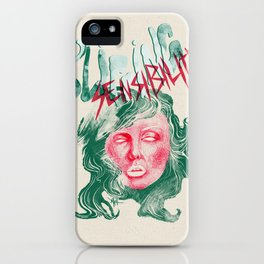 """Debbie Harry(BLONDIE) """"Slipping Sensibility"""" - The Punk Loons. iPhone Case"""