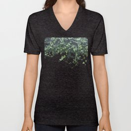 Flying Leaves. Fashion Textures Unisex V-Neck