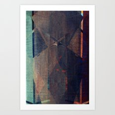 lazarus (no one knows me now) Art Print