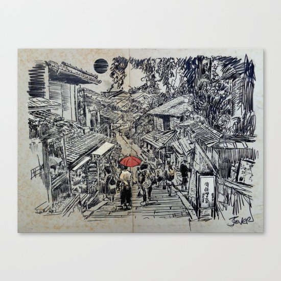 KYOTO MOMENT Canvas Print