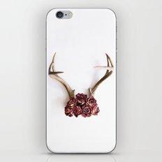 Floral Antlers II iPhone & iPod Skin