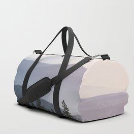 Mount Hood over the Columbia River Gorge Duffle Bag