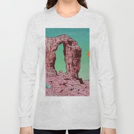 Pink Arch Long Sleeve T-shirt