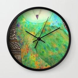The Mystic Owl Wall Clock