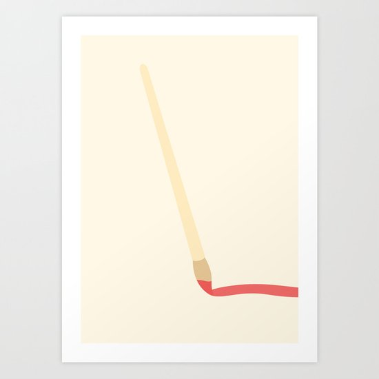#42 Paintbrush Art Print