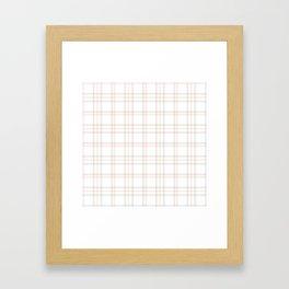 Cute Plaid 1 Framed Art Print