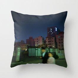 Boy and Girl Throw Pillow