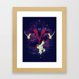 BAMF Framed Art Print