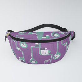 Mesh - roots Fanny Pack