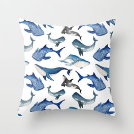 Spirit of the Sea Throw Pillow