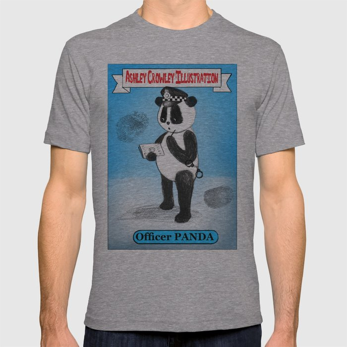Officer Panda T-shirt