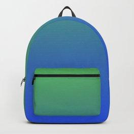 RESTING STATE - Minimal Plain Soft Mood Color Blend Prints Backpack
