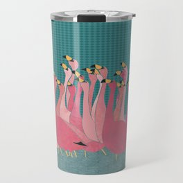 Pink flamingos Travel Mug