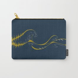 Sound Wave Carry-All Pouch