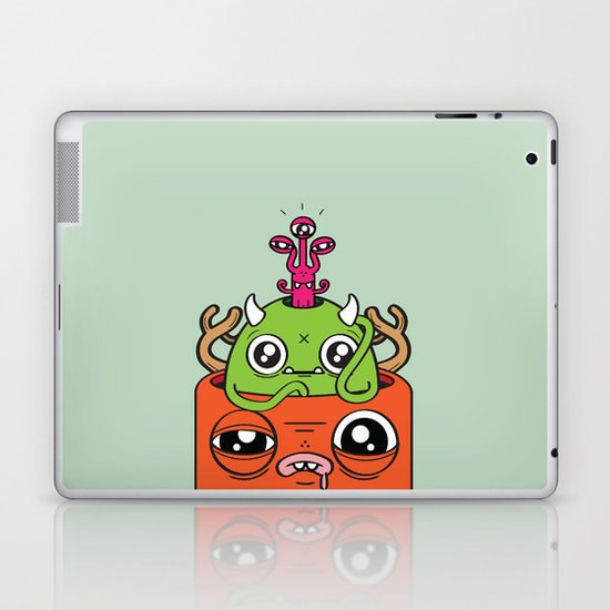 Monster Mind Laptop & iPad Skin