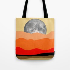 Abstract minimalist moon Tote Bag