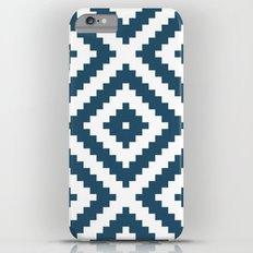 Cerulean Aztec iPhone 6s Plus Slim Case