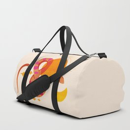 Abstraction_SUN_MOON_SNAKE_Minimalism_001 Duffle Bag