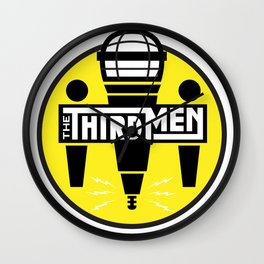 The Third Men Podcast Logo Wall Clock