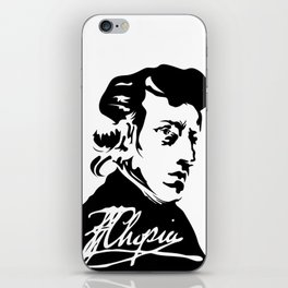 Frédéric Chopin (1810 – 1849) (II) iPhone Skin