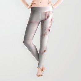 Red marble pattern Leggings