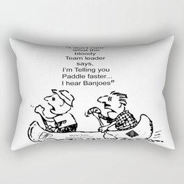 I Hear Banjos  Rectangular Pillow