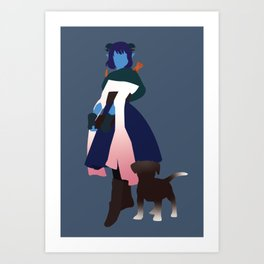 Jester - Critical Role Art Print
