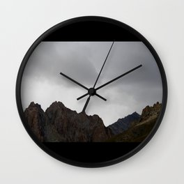 reaching the sky Wall Clock