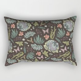 Cacti by Night Rectangular Pillow