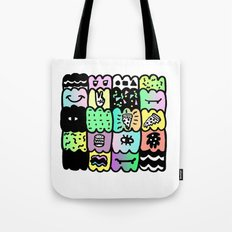 I am a  coloured pattern, pattern Tote Bag