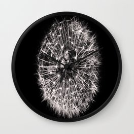 Black and White Dreams Wall Clock
