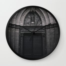 The Gates of Unwelcome Wall Clock