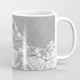 Edinburgh Map Line Coffee Mug