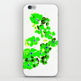 Green Heart iPhone Skin