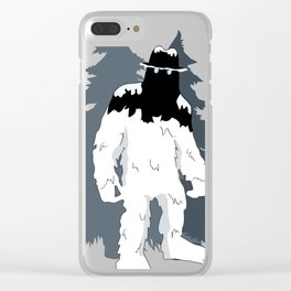 Cool Yeti Clear iPhone Case