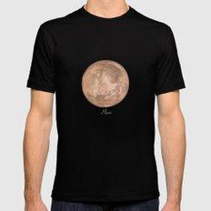 Mars #2 Mens Fitted Tee LARGE Black