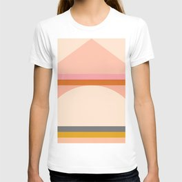 Abstraction_Mountains_Landscape_Minimalism_003 T-shirt